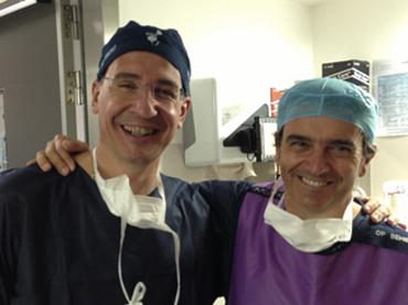 with Dr. Cesare Scoffone
